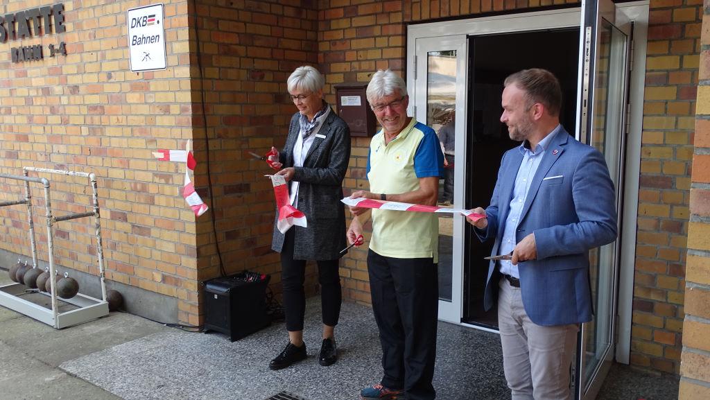 Eröffnung Neue Sanitäranlagen